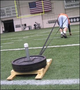 Speed athletic conditioning sled