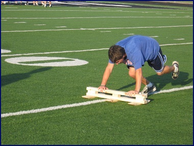 Turfboard XL athletic conditioning sled